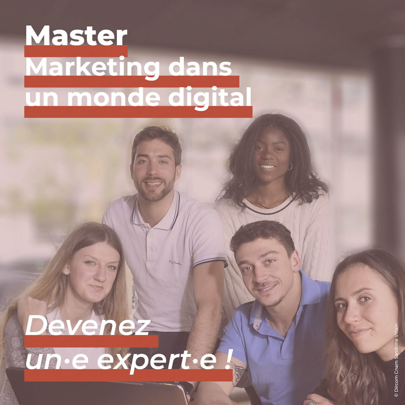 Master Marketing dans un monde digital
