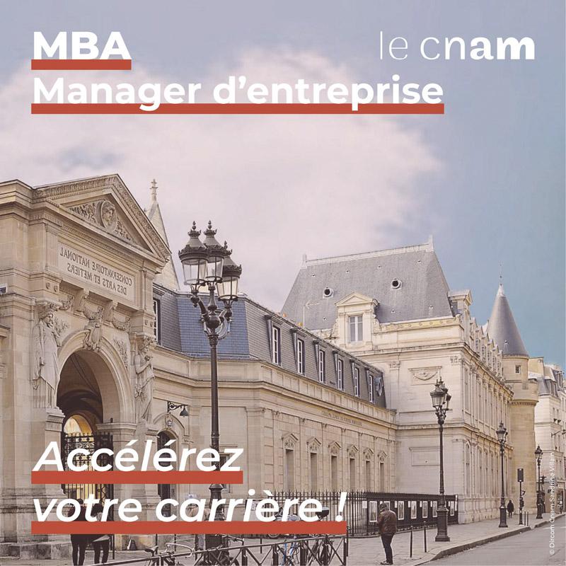 MBA Manager d'entreprise