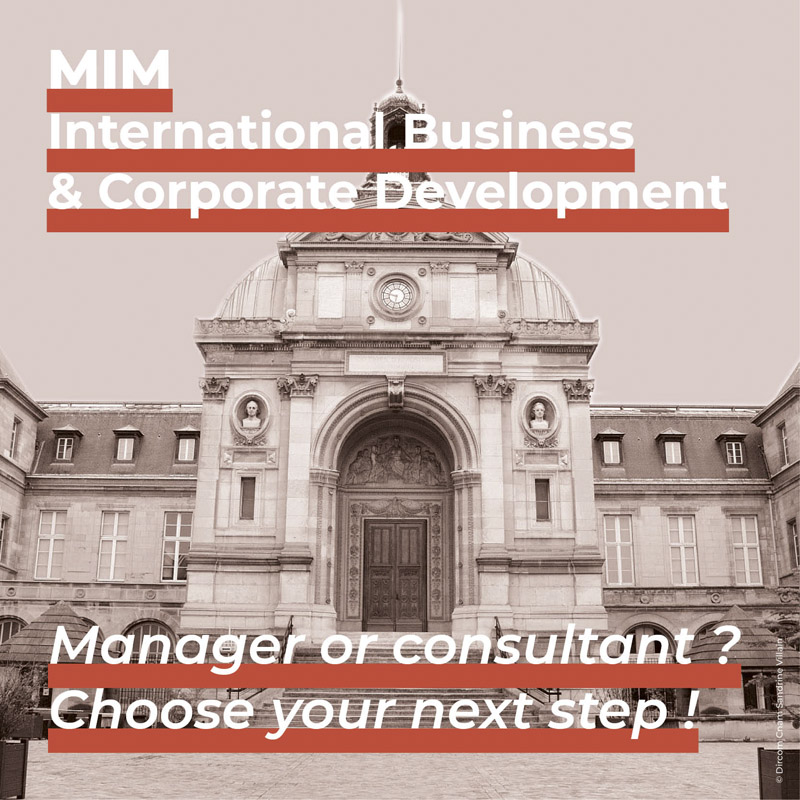 Master in Management International Business and Corporate Development