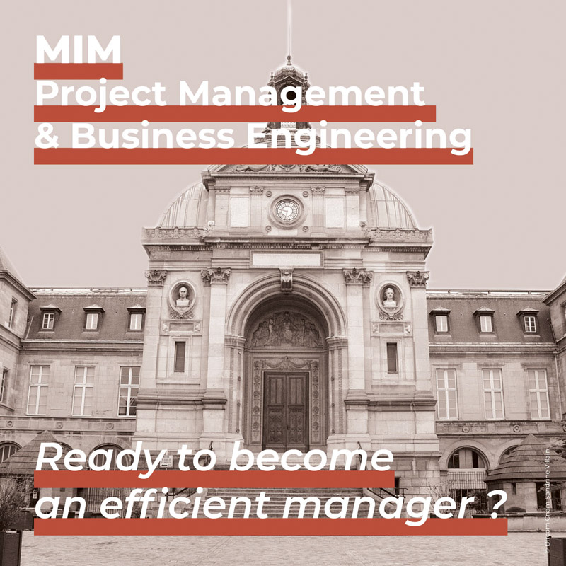Master in Management Project Management and Business Engineering